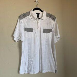 INC. international Concepts tab shoulder top.